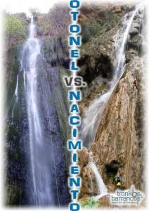 Barranco de otonel y barranco de Nacimiento