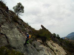 Barranco de Boronat Tronkos y Barrancos