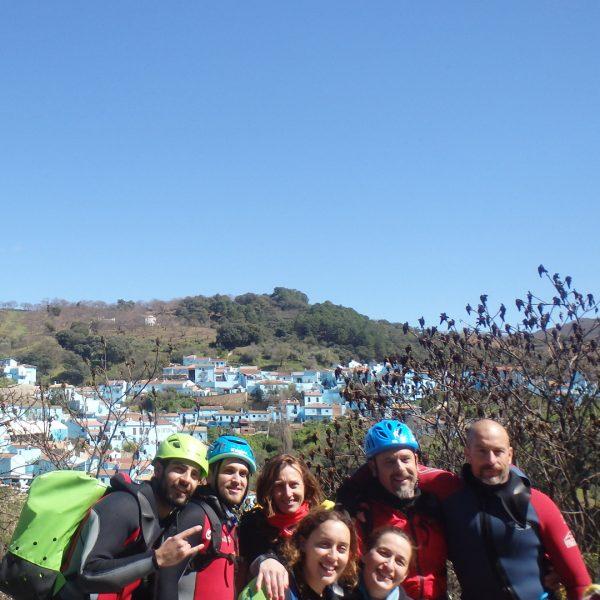 Barranco Majales con Tronkos y Barrancos